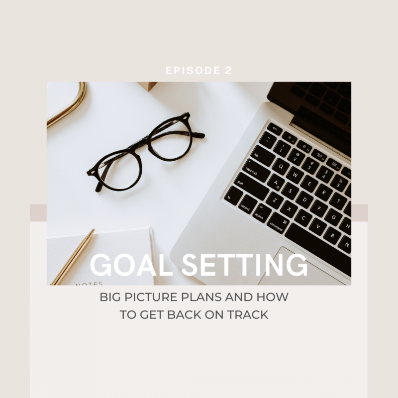 Goal Setting, Big Picture Plans and How to Get on back on Track